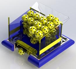 FRC 2641's Robot Mockup for 2017 STEAMWORKS