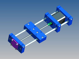 simply printable motorized screw axis for test