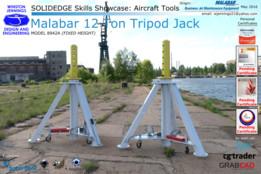 Solid Edge Skills Showcase: Malabar 12 Ton Tripod Jack