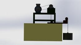 Bearings load test setup