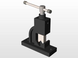 pipe press