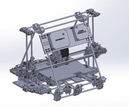 RepRap Mendel 3d Printer