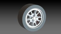 Wheel for mustang Gt500