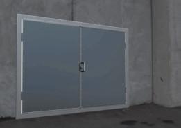 thermal insulated door