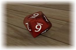 10 Sided Gaming Die