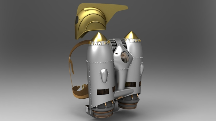 Rocketeer Rocket Pack Clasp The Rocketeer Pack and...