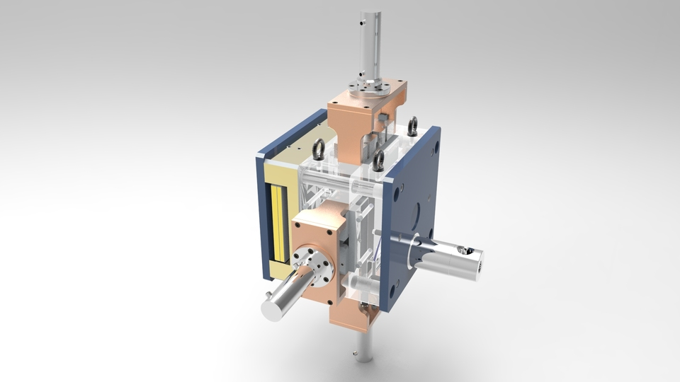 High pressure die casting tooling | 3D CAD Model Library | GrabCAD