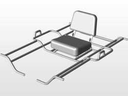 Pontoon Fishing Frame