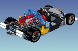 Redback Spyder Chassis