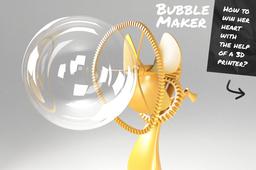 cloud print bubble machine