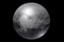 Pluto (Dwarf Planet) Kilometer Scale