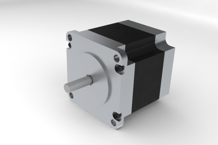 57hs09 2 Phase Nema 23 Stepper Motor 1 3nm Solidworks