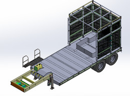 LOW BED TRAILER FOR SUBSTATION