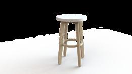 Wood stol