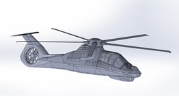 Comanche Helicopter