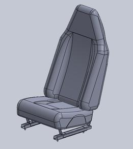 GMC Savanna seat