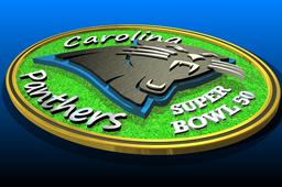 Carolina Panther Super Bowl Coin