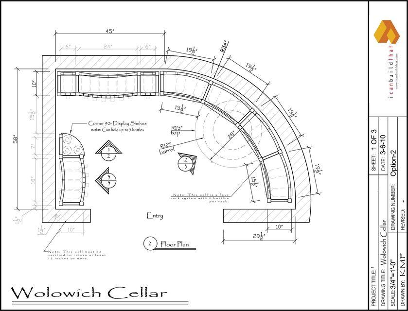 Wine Cellar - 2 sample | 3D CAD Model Library | GrabCAD
