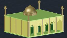 masjid 3d