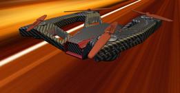Mustang racing drone