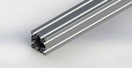 80/20 20mm quad aluminum extrusion 20-4040
