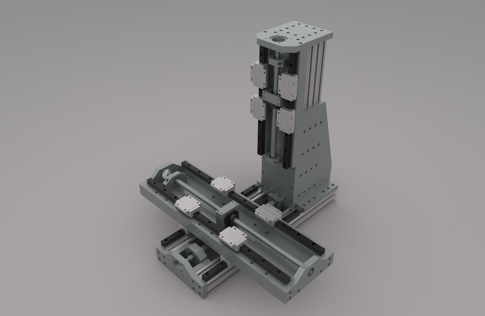Diy Cnc Mill 3d Cad Model Library Grabcad