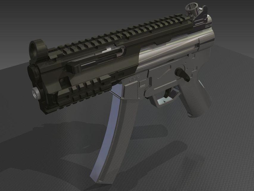 Stinger R36 Airsoft Gun 3d Cad Model Library Grabcad