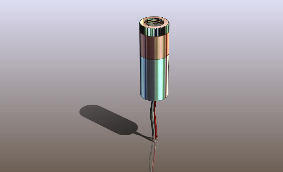 12mm Laser Diode Module with 635nm Mitsubishi Laser Diode