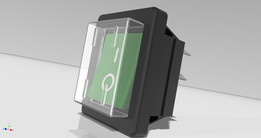 Rocker Switch (Based on Arcolectric series 1550-1350)
