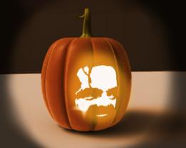 Shining pumpkin..