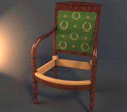 ossature de fauteuil