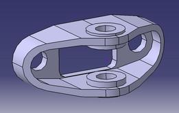 Formula Car Wishbone Support Mount