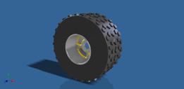 Off road Wheel (18 x 8.5 x 8)