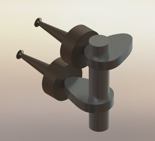 Ic Rotary Engine Valves 3d Cad Model Grabcad