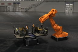 Weldingstation with Robot