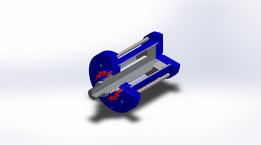 Hydraulic Cyllinder Uncoiler Mandrel