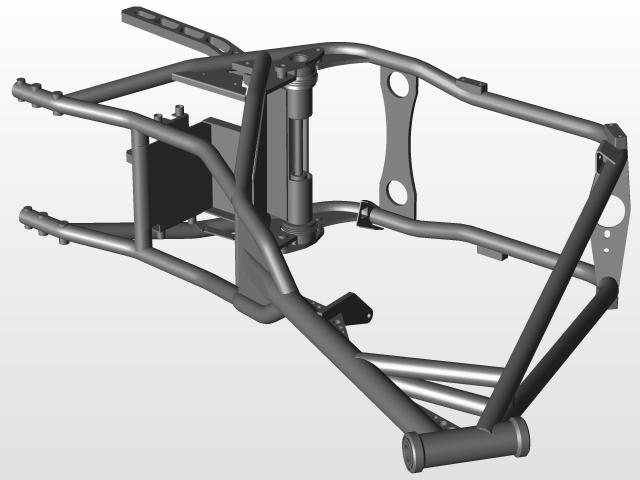 200W FXR Frame.zip   3D CAD Model Library   GrabCAD