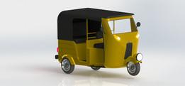Auto rickshaw_Indian Concept