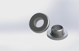 Ohlins KTM SX 85 shock bearing spacer