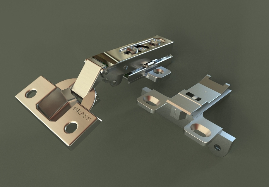 Grass 3803 Hinge/120 degree opening - STL,STEP / IGES,SOLIDWORKS ...
