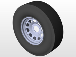 Wheel Tyre 305 75 R17 5 Stud