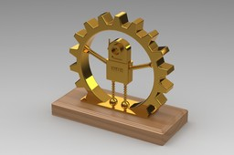 Golden Gear Award Trophy