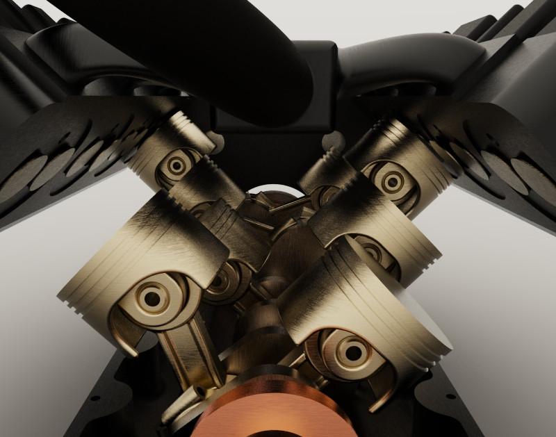 TATA V8 Engine | 3D CAD Model Library | GrabCAD