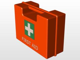 ENWAR First aid kit sample model DIN 13164