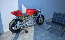 Ducati 900SS Base (STL-Body)