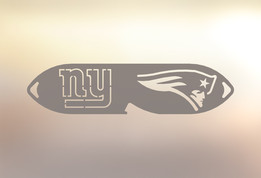 New England Patriots - New York Giants Superbowl Bartender Bottle Opener