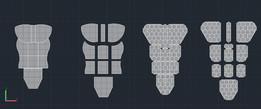 modular bulletproof vest project - personel body armor