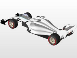 Basic F1 car