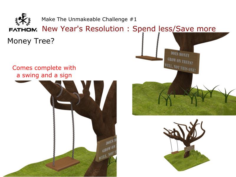 Money Tree? | 3D CAD Model Library | GrabCAD