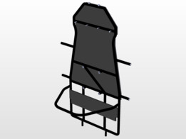 chassis for go-kart car by (Spikl sonic)